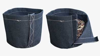 Fabric Pots - Velcro Opening